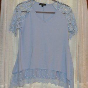 Diane Gilman DG2 Top with Crocheted sleeves